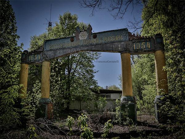 Polesskoe, una città dimenticata all'ombra di Pripyat e