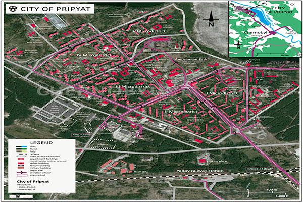 Microdistretti di Pripyat